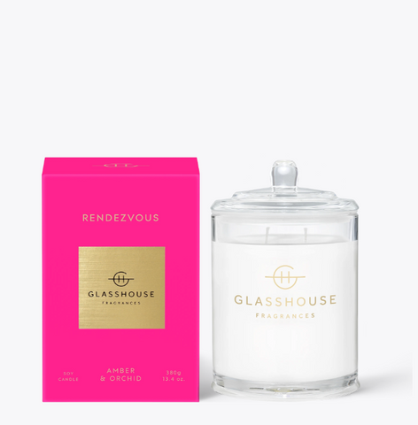 Glasshouse Candle - Rendezvous