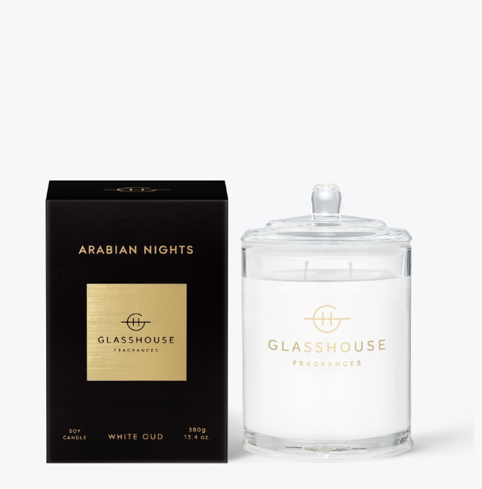 Glasshouse Candle - Arabian Nights
