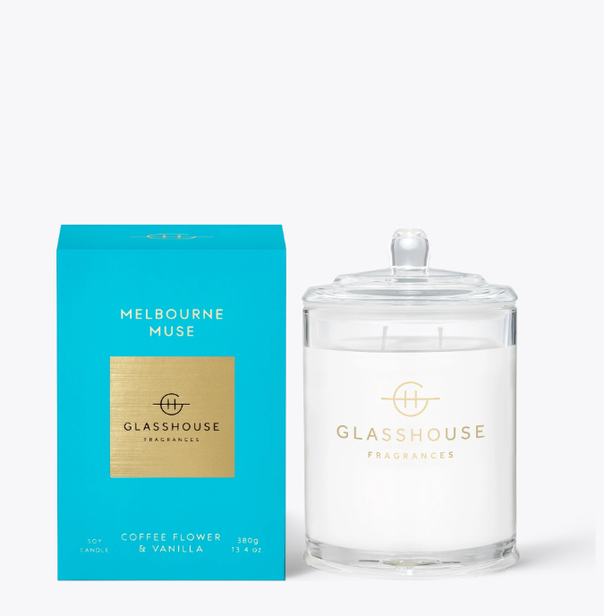 Glasshouse Candle - Melbourne Muse