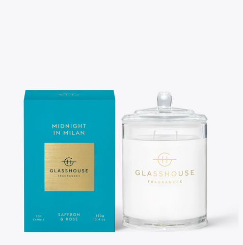 Glasshouse Candle - Midnight In  Milan