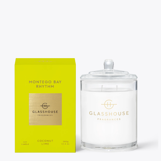 Glasshouse Candle - Montego Bay Rhythm