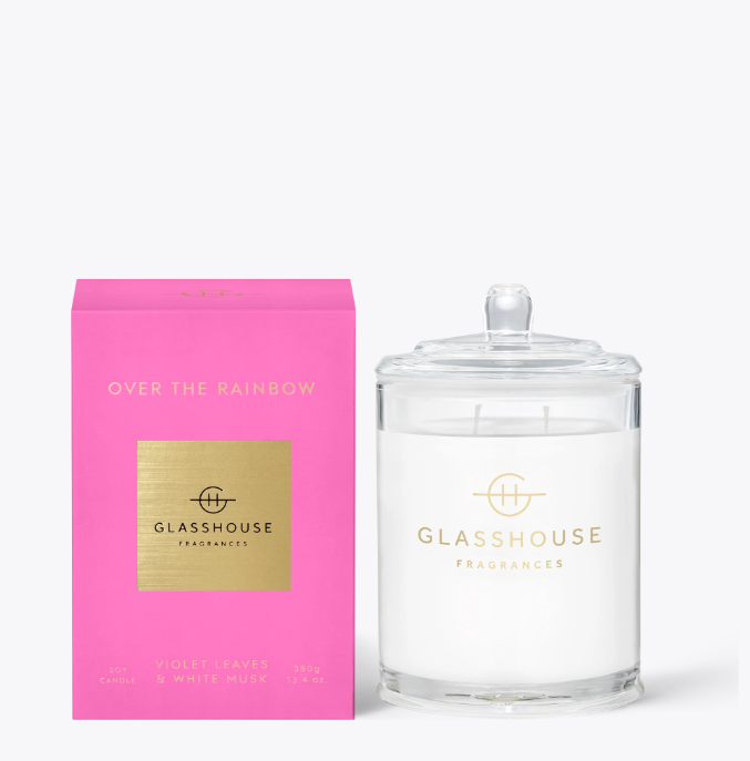 Glasshouse Candle - Over The Rainbow