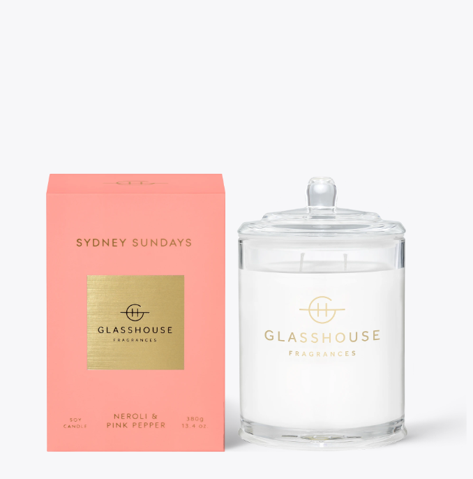 Glasshouse Candle - Sydney Sundays