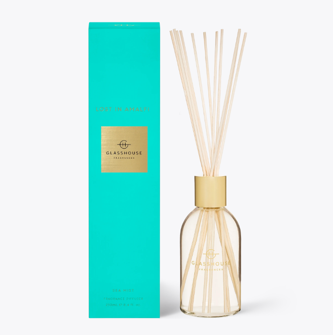 Glasshouse Diffuser - Lost In Amalfi