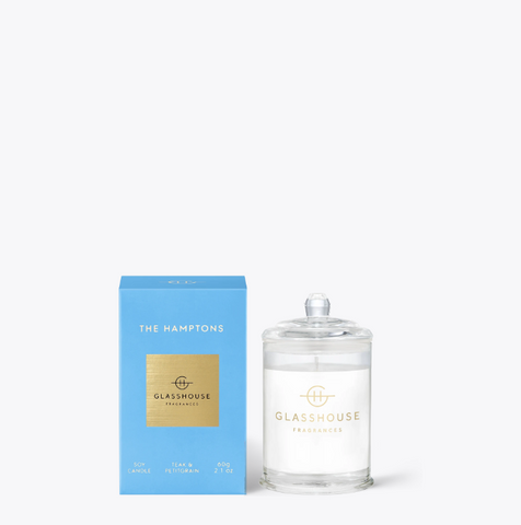 Glasshouse 60g Candle - The Hamptons