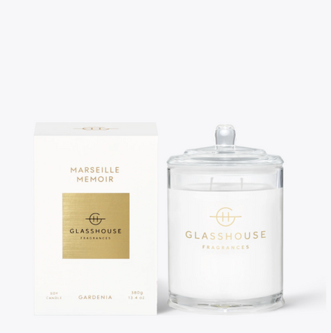 Glasshouse Candle - Marseille Memoir