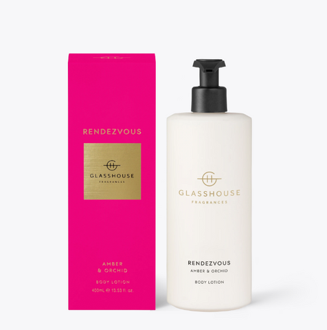 Glass House Body Lotion - Rendezvous