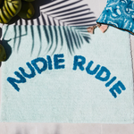 Tula Nudie Bath Mat Mint