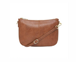 Elms + King Small Bowery Shoulder - Tan Pebble