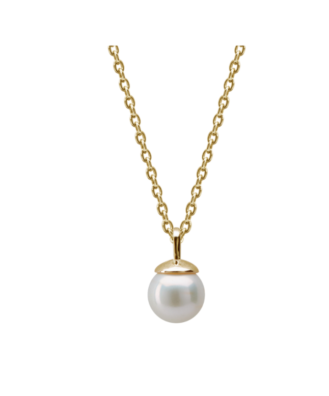 Murkani Pearl Necklace in 18KT Yellow Gold