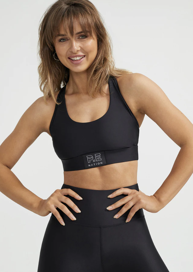 P.E Nation Baseline Endurance Sports Bra