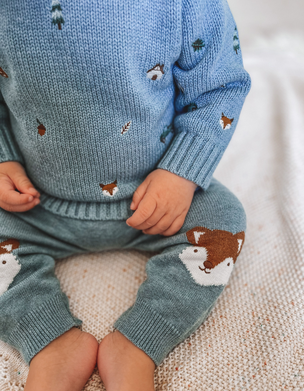 Purebaby Forest Embroidered Jumper