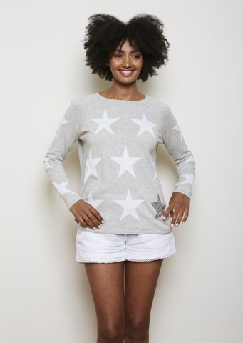 Alessandra Star Jumper With Sequin