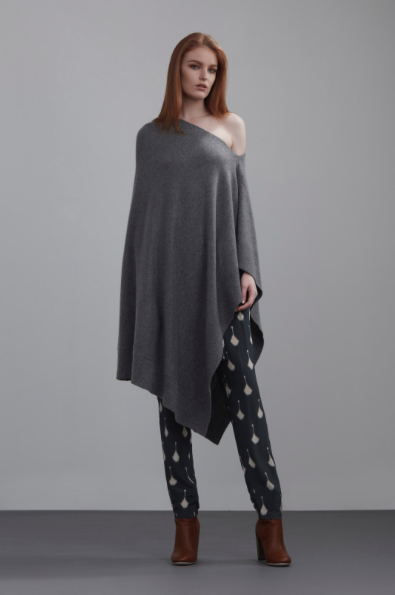 The Dreamer Label Knitted Poncho