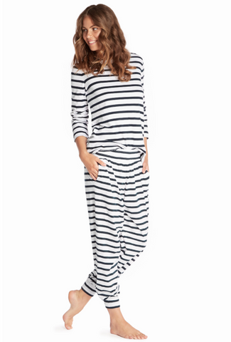 Jasmine & Will Mens Stripe Sleep Short