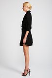 Shona Joy Dazed Frill Collar Drawstring Mini Dress