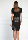 Ena Pelly Minimalist High Waist Stretch Skirt
