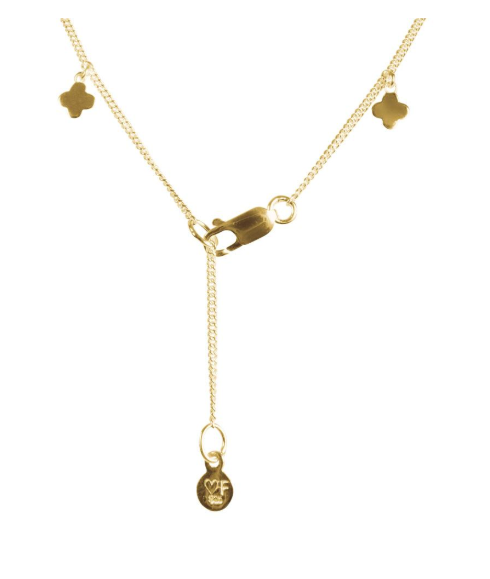 Fairley Alexa Morrocan Charm Necklace Gold
