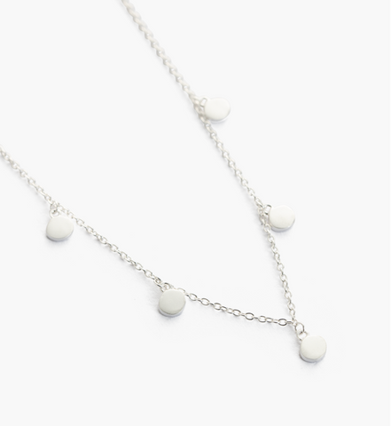 Kirstin Ash Travel Stories Necklace-Silver