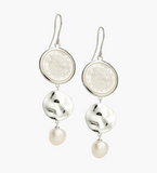 Kirstin Ash By The Sea Earrings- Silver