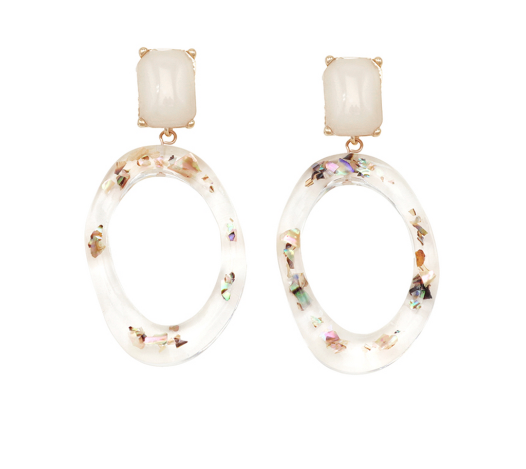 Jolie & Deen Robyn Resin Earrings