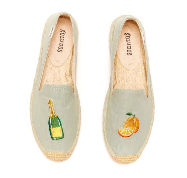 Soludos Mimosa Smoking Slipper