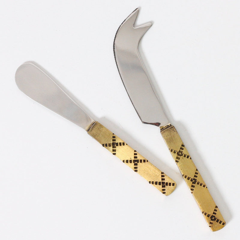 Stitched Cheese & Spread Knife