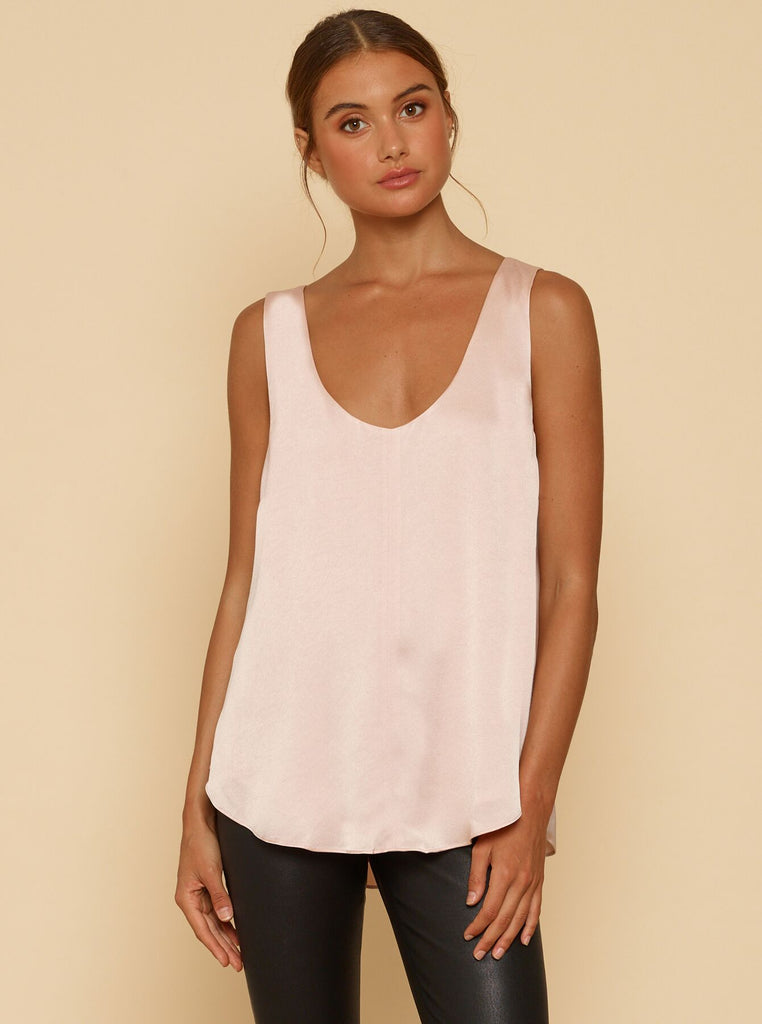 Luxe Deluxe Fast Fix Scoop Neck Tank