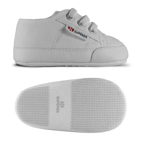 Superga Kids White/Black Clubs