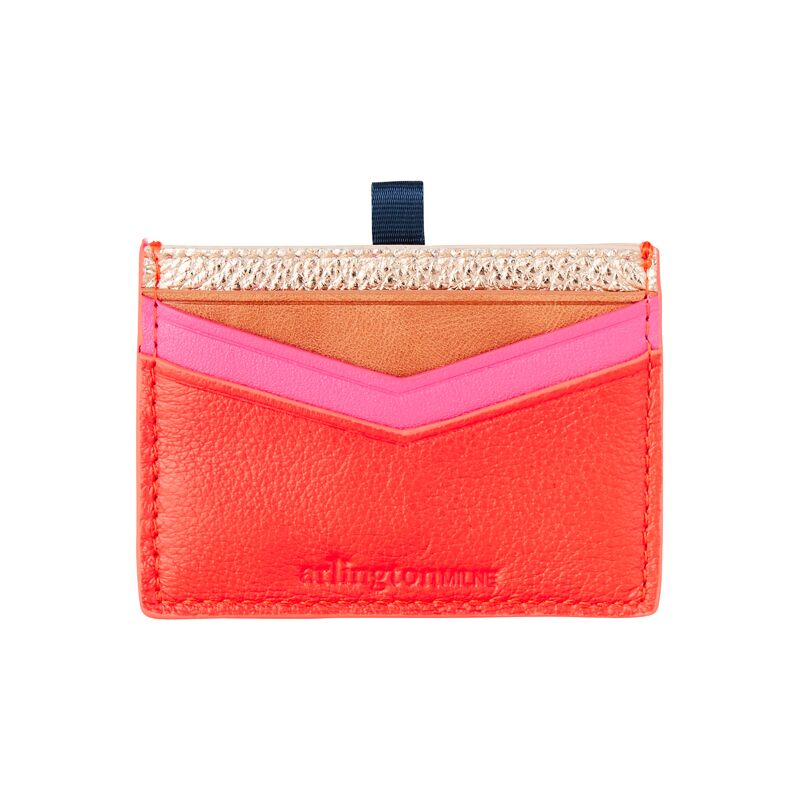 Arlington Milne Alexis Leather Card Holder