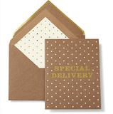 Kate Spade Special Delivery Card