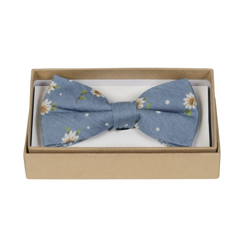 ORTC Man Chambray Flowers Bow