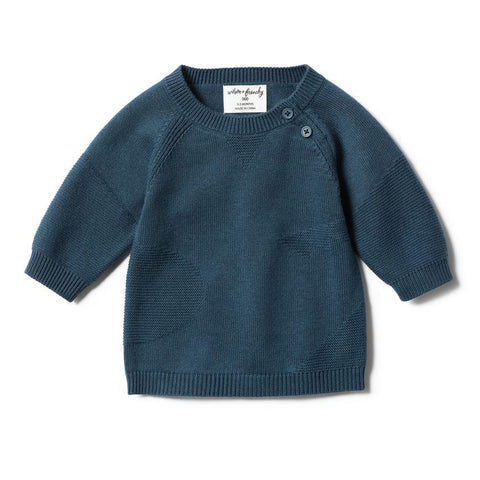 Wilson & Frenchy Jacquard Knitted Jumper