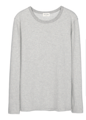 Ameican Vintage Paxton Long Sleeve T-Shirt