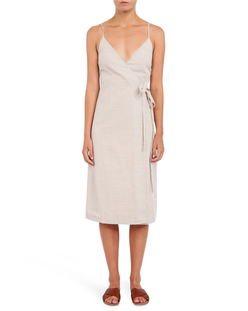 Nude Lucy Piper Wrap Dress