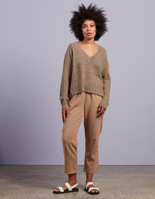 Nude Lucy Carson Speckle Jumper
