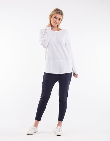 Elm Fundamental Rib L/S Tee