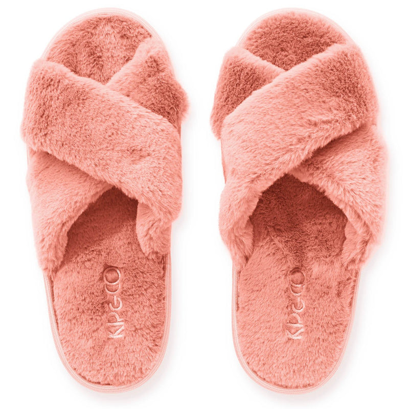 Kip & Co Blush Pink Adult Slippers
