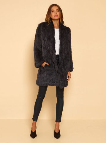 Luxe Deluxe Lush Luxe Long Fur Coat