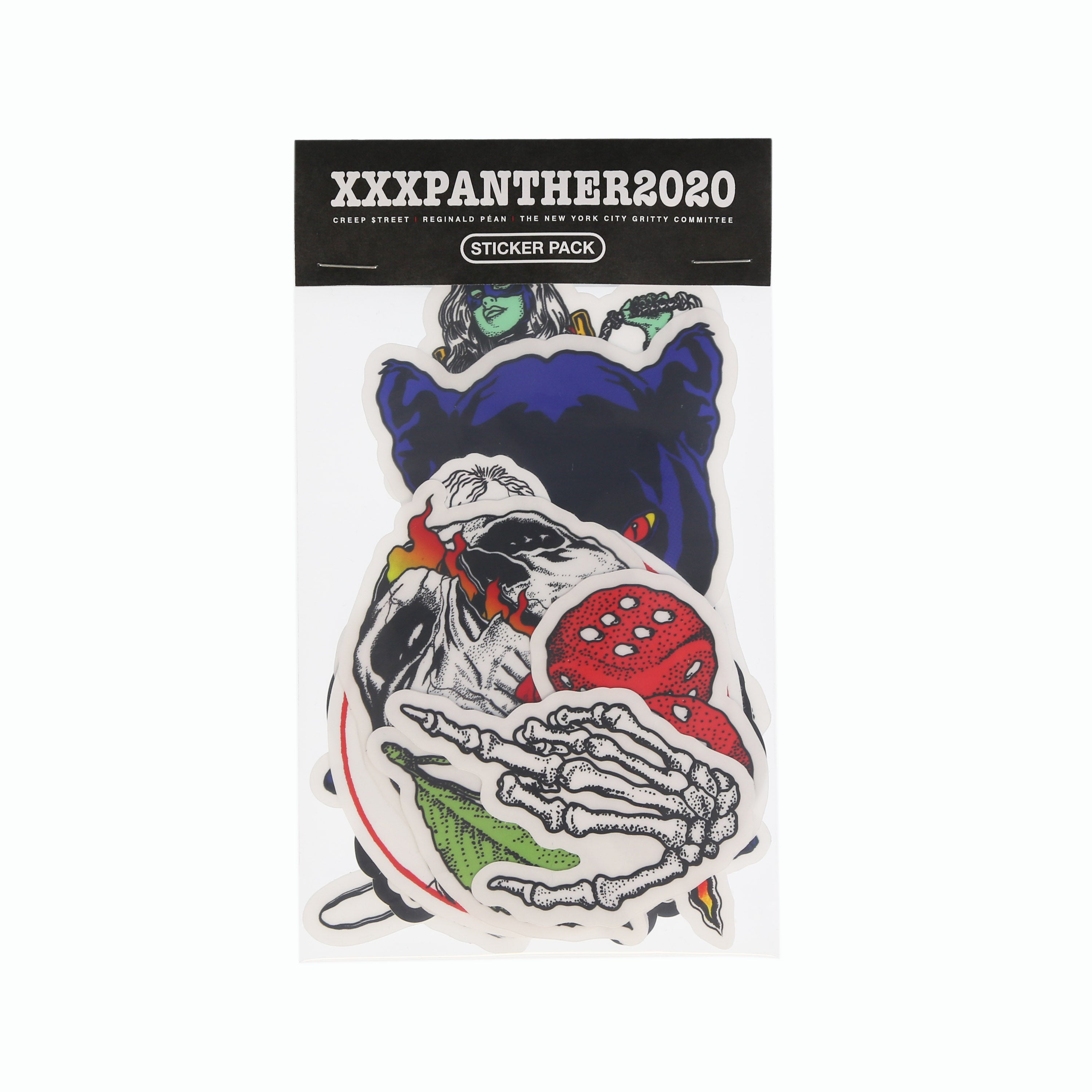 XXXPANTHER STICKER PACK