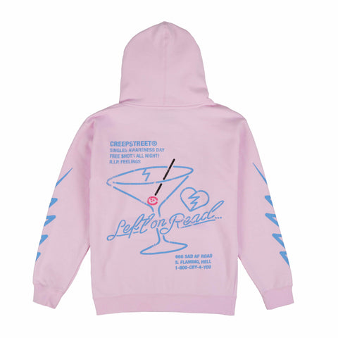 LEFT ON READ PULLOVER HOODY