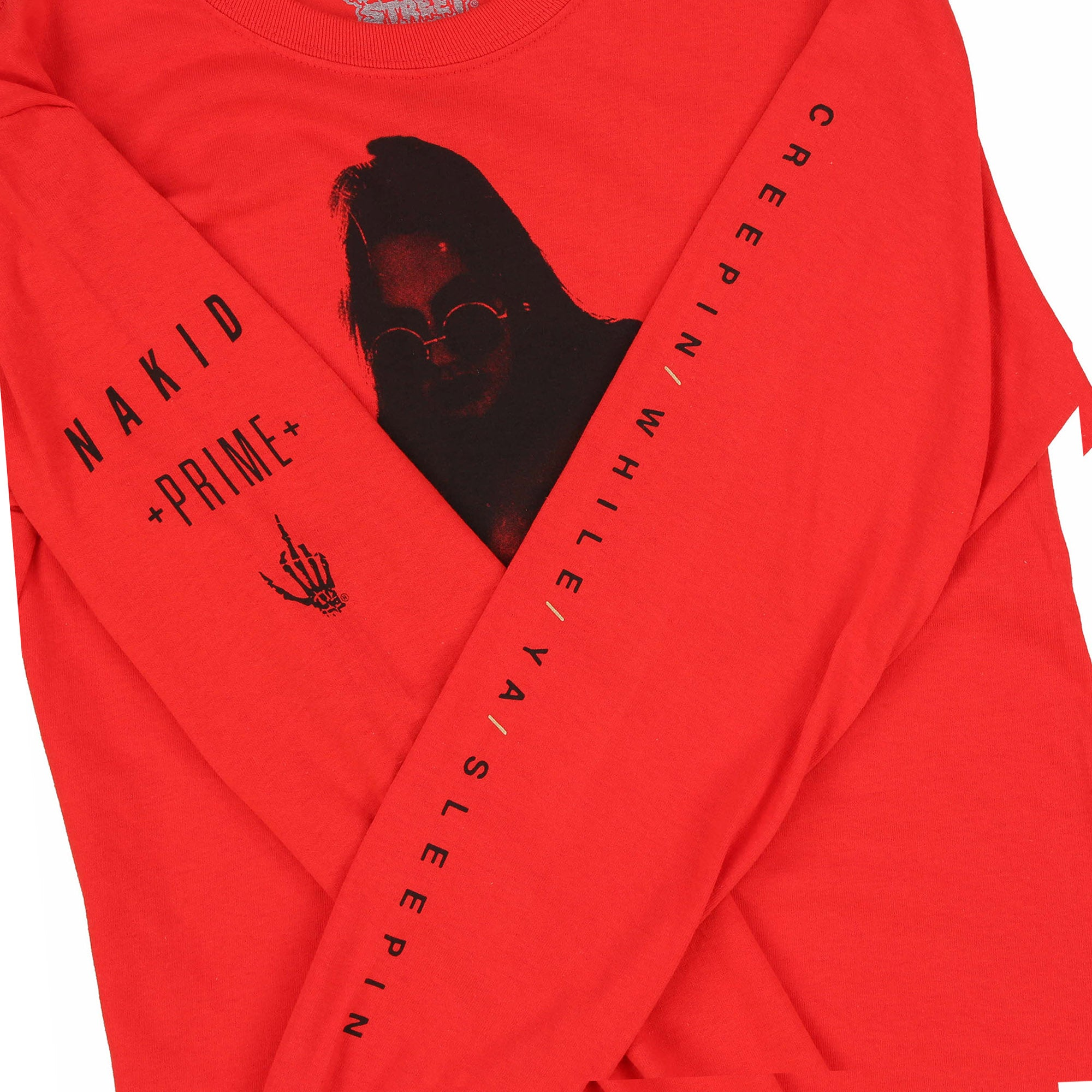 NAKID HOUSE L/S TEE (NAKID MAG x PRIME NIGHTCULT XXXCLUSIVE)