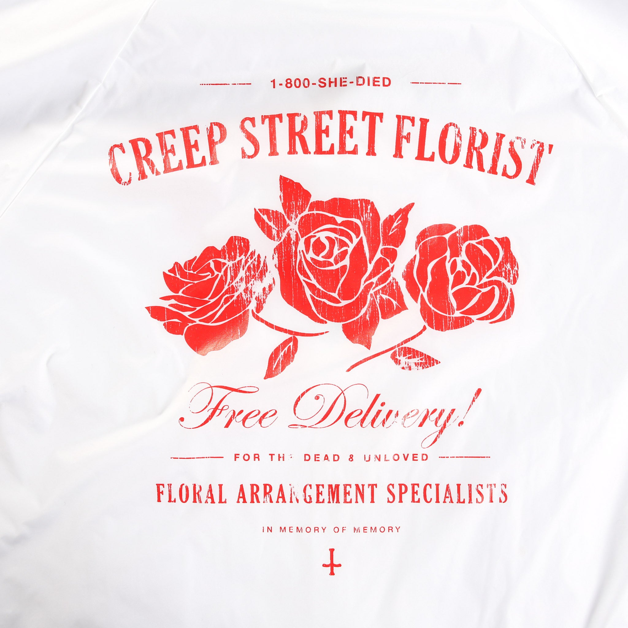 CREEPY FLORIST COACHES JACKET