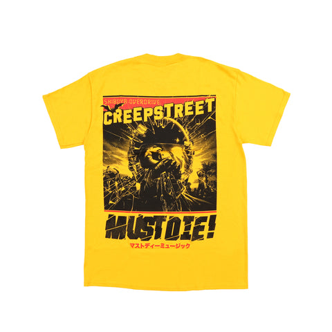 CREEP STREET x MUST DIE! SHATTERED TEE