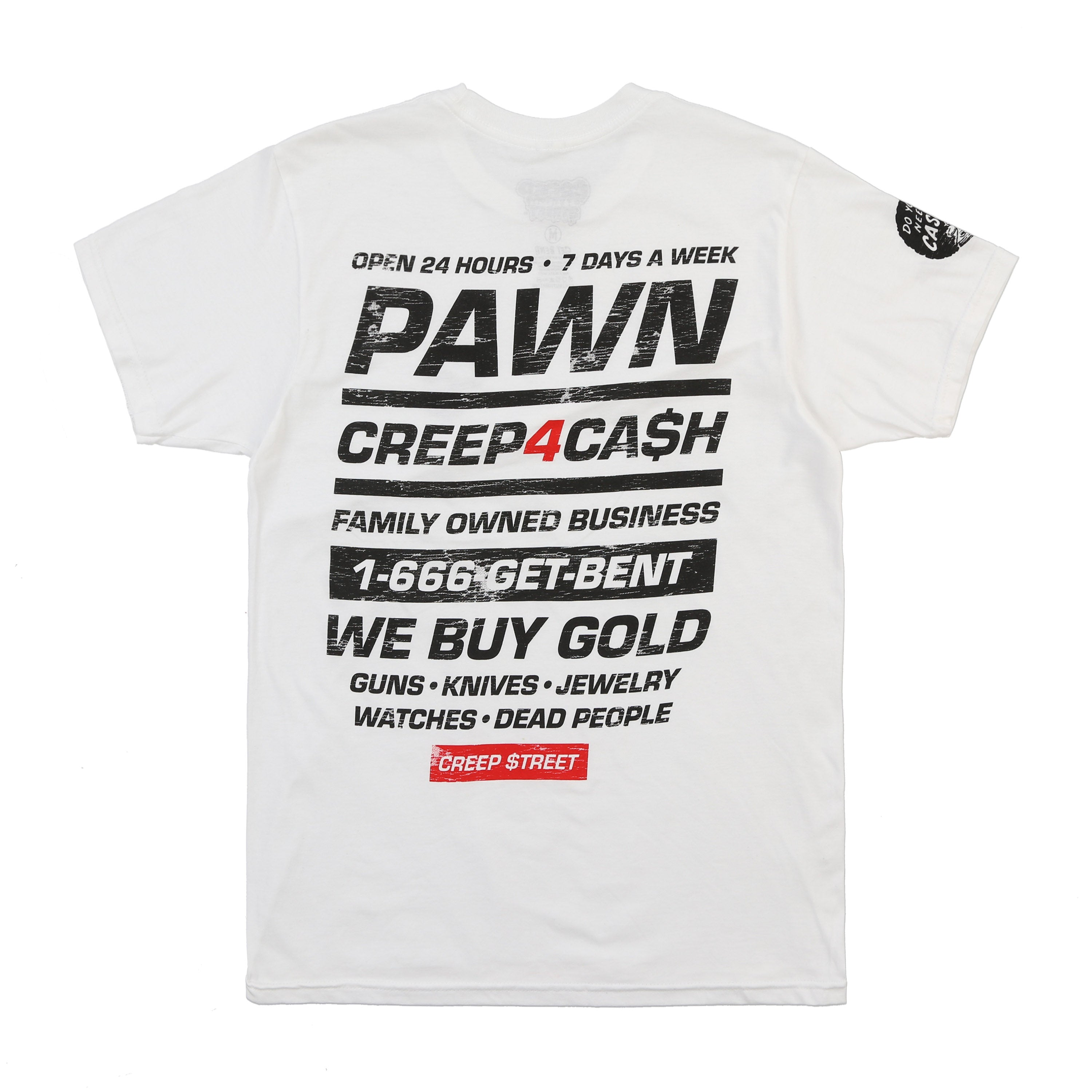 CREEP 4 CASH TEE