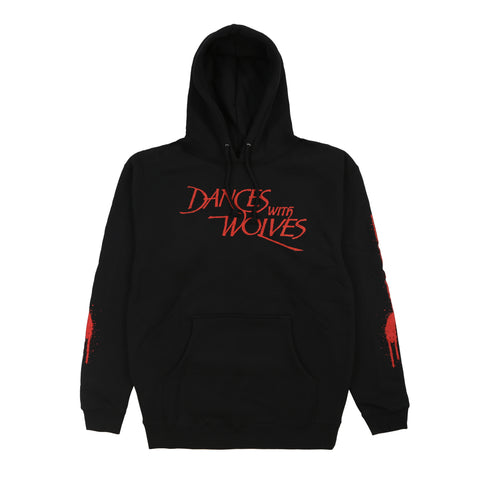 DANCE WITH WOLVES HOODY (BLACK)