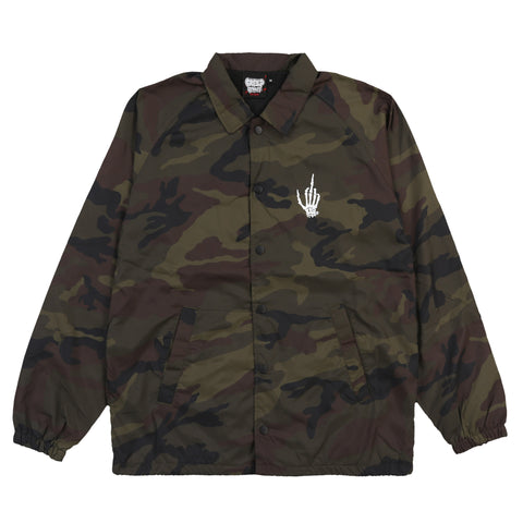 DEATH DEALERS CAMO COACHES JACKET