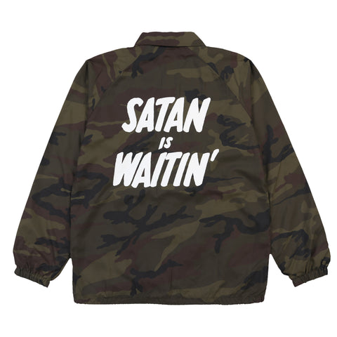 DEATH WEB SATIN BOMBER JACKET (LIMITED EDITION)