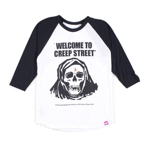 FEAR CITY II BASEBALL TEE