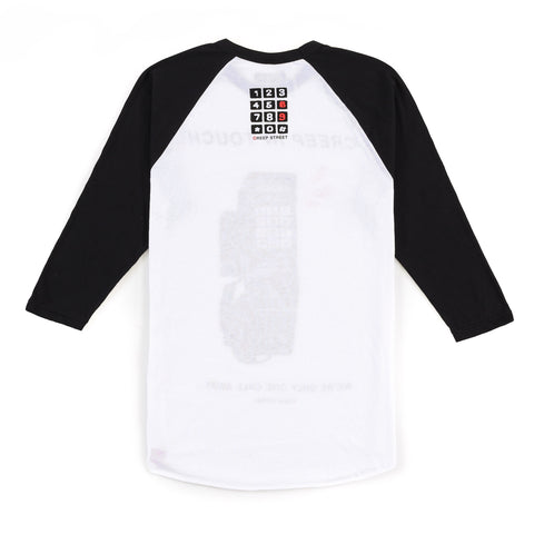 CREEP IN TOUCH BASEBALL RAGLAN